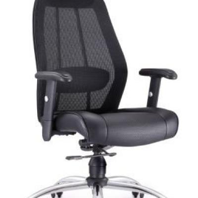 Офисное кресло с подвижными ножками, сетчатая