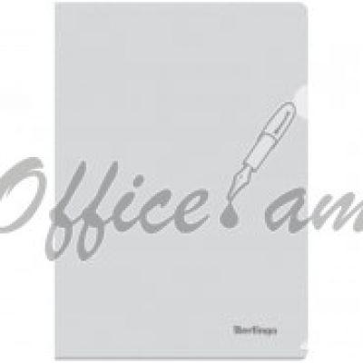 Папка-уголок А4 180мкм, прозрачная бесцветная