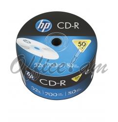 HP CD-R 700MB, 52x, 50հատ