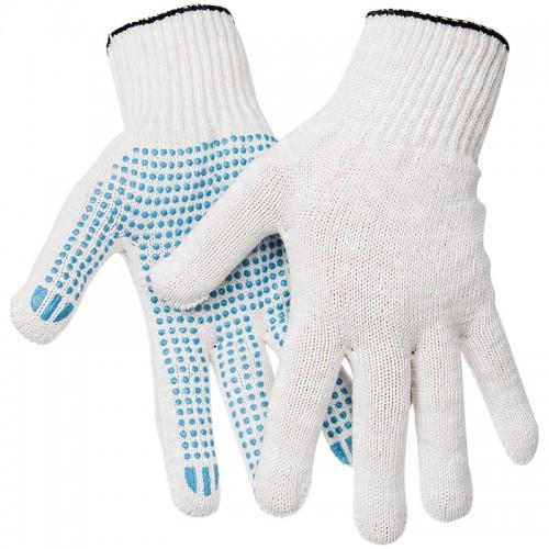 Ձեռնոց շինարարական, կտորից սպիտակ