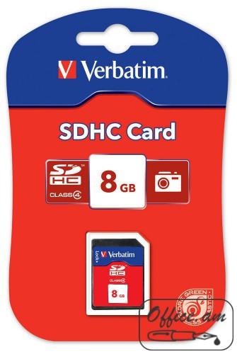 SecureDigital SDHC Class 10 8GB