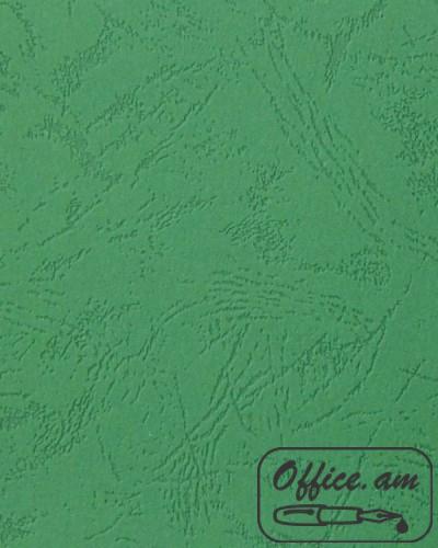 Обложка для переплета A4 230г/м2 зеленый картон