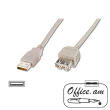 ACC USB 2.0 bulk cable A Type Male -A Type Female,1.8m