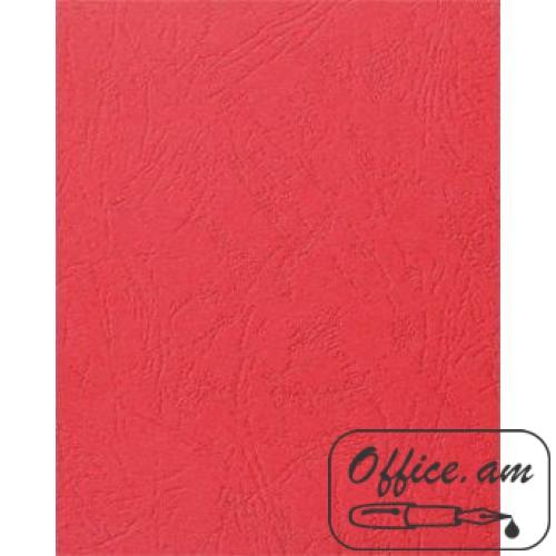 Обложка для переплета А4 230г/м2 красный картон