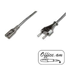 Power cable ACC Euro plug<=> Euro 8 jack, 2m