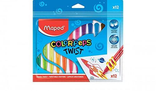 Յուղային մատիտներ գունավոր