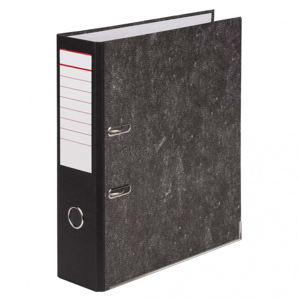 Թղթապանակ-ռեգիստր A4, 80 մմ, սև
