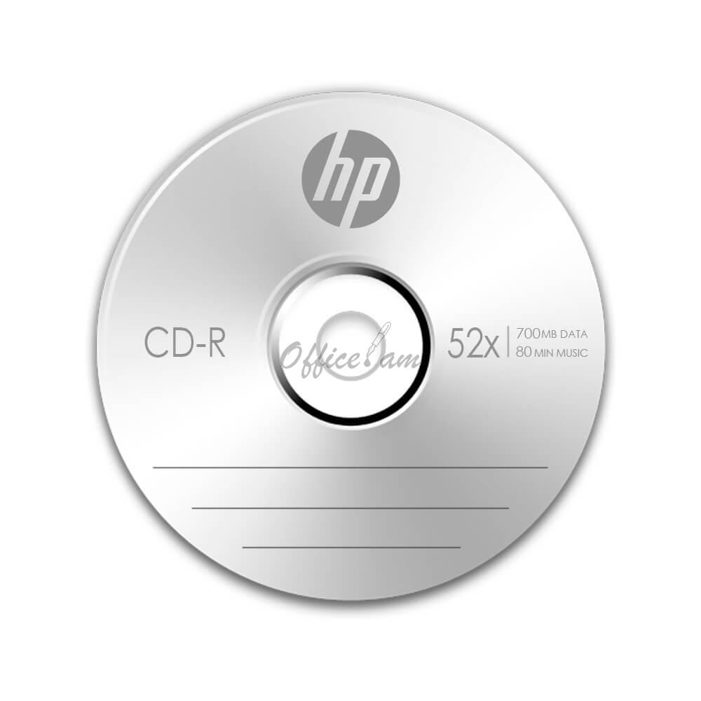 HP CD-R  700Մբ, 52x, 1 հատ