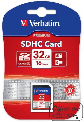 SecureDigital SDHC Class 10 32GB