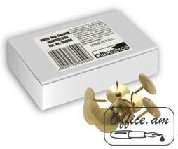 Կոճգամներ մետաղյա ոսկեգույն 50 հատ
